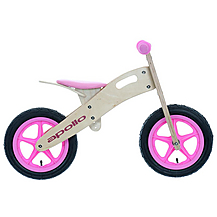 Apollo wooden balance bike from Halfords